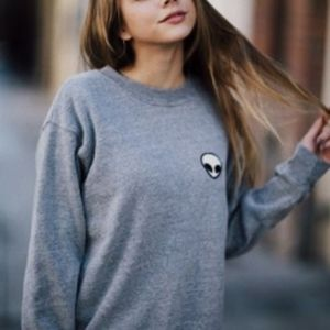 Brandy Melville | Alien Sweatshirt